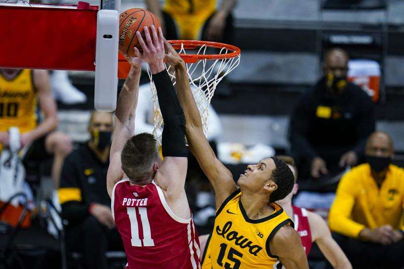 Keegan Murray: Shot-blocker (and a lot more) for Iowa men's basketball
