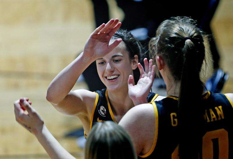 Caitlin Clark: A shining star in a dimly lit gym as Iowa beats Kentucky in NCAA tournament