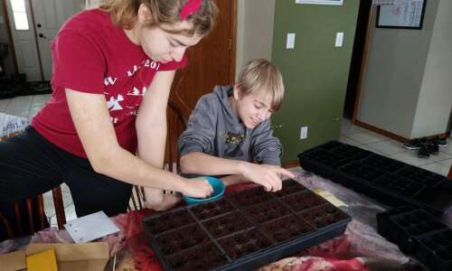 Start your own seeds to get a head start and…