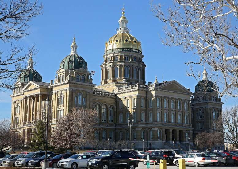Check out the Iowa State Capitol