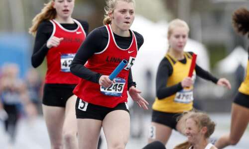 Iowa girls' track teams have questions after an idle 2020;…