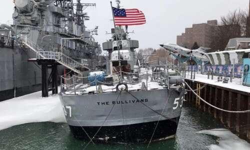 $1 million effort underway to save sinking USS The Sullivans