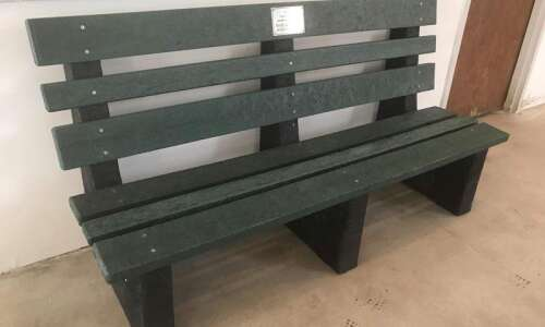 TerraCycle donates bench to Fairfield