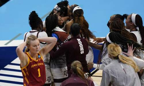 Iowa State falls to Texas A&M in NCAA women's basketball…