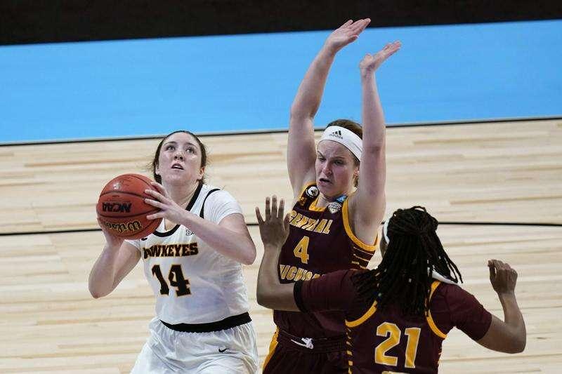 Iowa battles No. 18 Kentucky, and NCAA women's basketball Sweet 16 awaits the winner