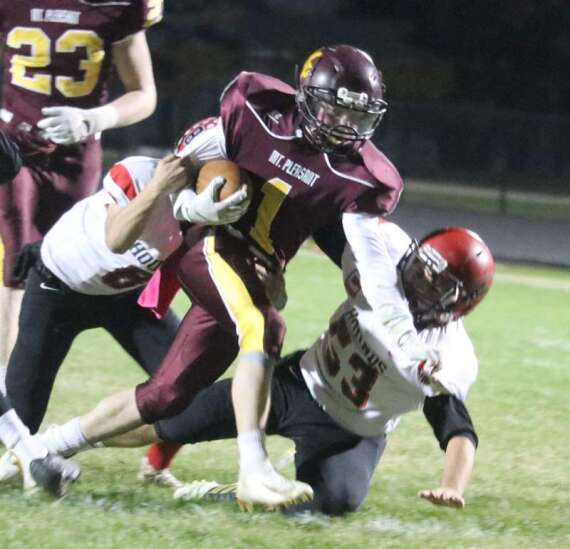 Football: Panthers moving on up