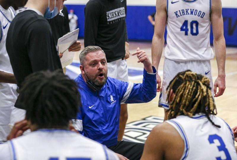 Photos: Kirkwood men's basketball hosts Marshalltown