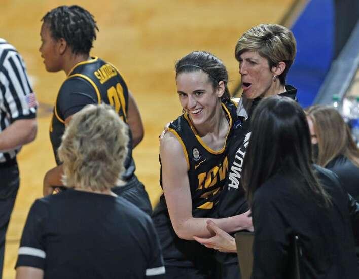 As Caitlin Clark's stardom explodes, her former coach looks on — as a fan