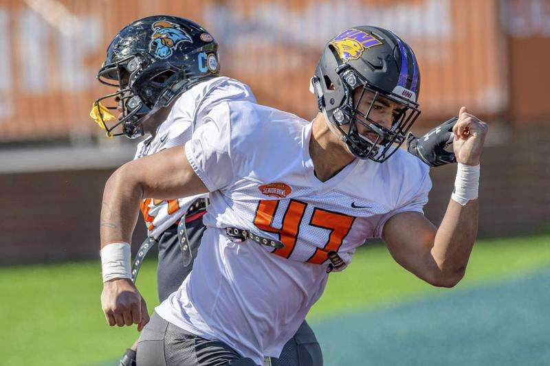 Elerson G. Smith, Spencer Brown polish NFL draft resumes at UNI Pro Day
