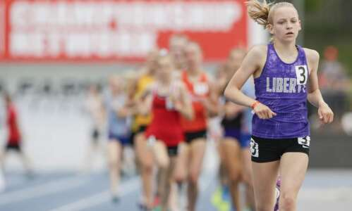 Iowa girls' track and field 2021: Gazette area individuals and…