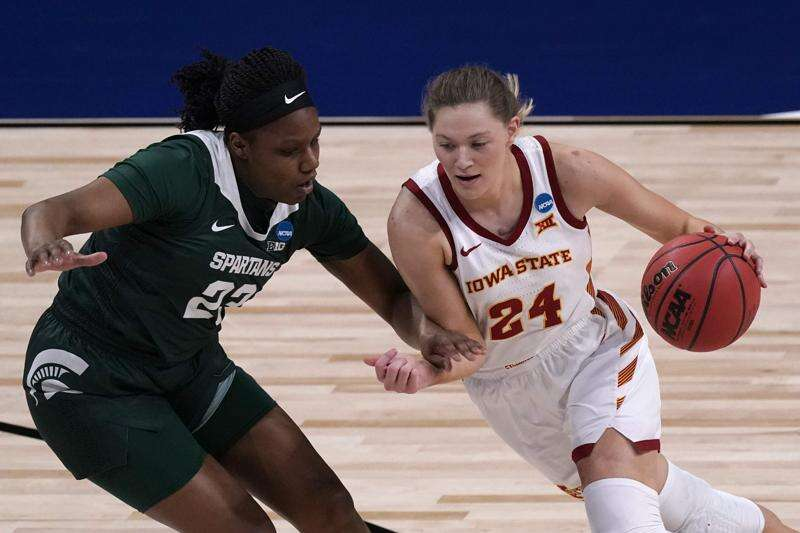Ashley Joens sets Iowa State NCAA women's basketball tournament record with 33 points in win