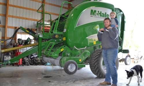 Louth finds success with custom hay baling business